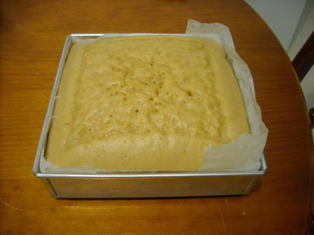 Sponge Cake Mix Using Brown Sugar